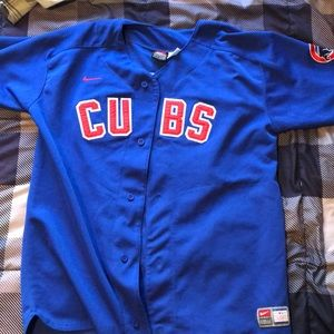 YOUTH LARGE CHICAGO CUBS NIKE MARK PRIOR JERSEY
